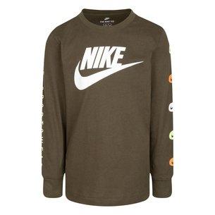 Nike Long Sleeve T Shirt Infant Boys