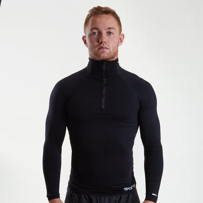 Skins Baselayer Zip Top Mens