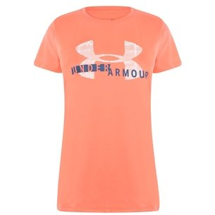 Under Armour Armour Short Sleeve Graphic T Shirt Ladies