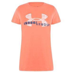 Under Armour UA Tech Ladies Graphic S/S Training T-Shirt