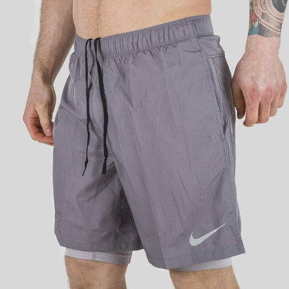 Nike Challenger 2 In 1 Training Shorts