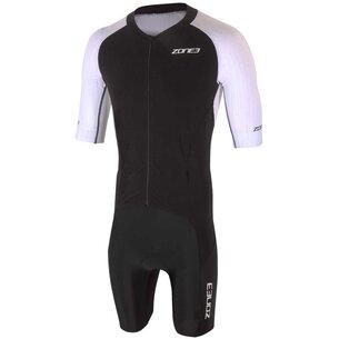 Zone3 Lava Long Distance Full Zip Short Sleeve Aero Suit
