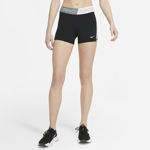 Nike Pro Womens 3  Inch Graphic Shorts