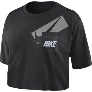 Nike Dri FIT Womens Graphic Training Crop Top