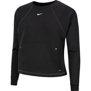 Nike Luxe Fleece Crew Sweatshirt Ladies