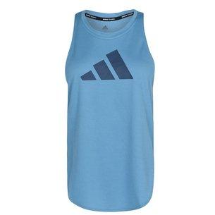 adidas Bar Logo Tan Vest Ladies