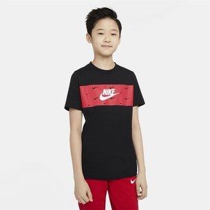 Nike Futura Panel T-Shirt Junior Boys