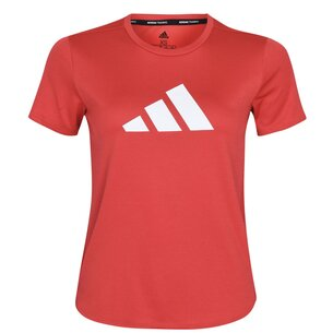 adidas Bar Logo T Shirt Ladies