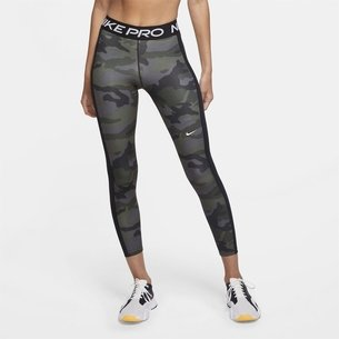 Nike Pro 7 8 Camo Tights Ladies