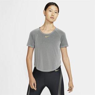 Nike Icon Clash Womens Short Sleeve Running Top