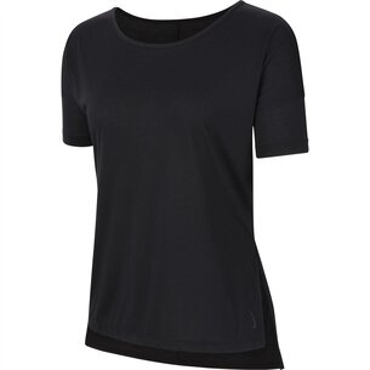 Nike Yoga Short Sleeve Top Ladies