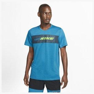 Nike Dri FIT Superset Mens Short Sleeve Training Top