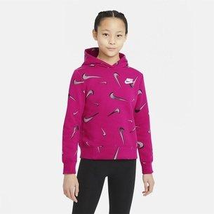 Nike Swooshfetti Girls Hoodie