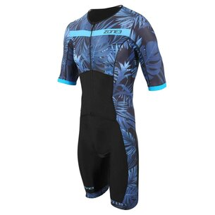 Zone3 Activate Topical Palm Short Sleeve Trisuit