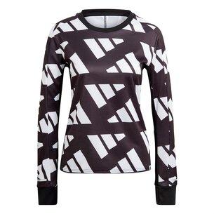adidas Own The Run Celebration Sweatshirt Ladies
