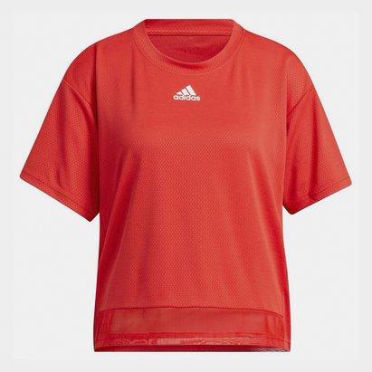 adidas Heat.Rdy T Shirt Ladies