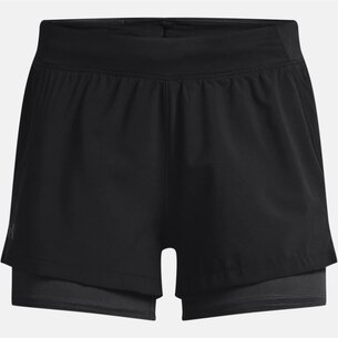 Under Armour Iso Chill 2in1 Running Shorts Ladies