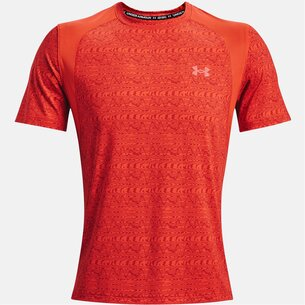 Under Armour Iso Chill Run Printed Short Sleeve T Shirt Mens