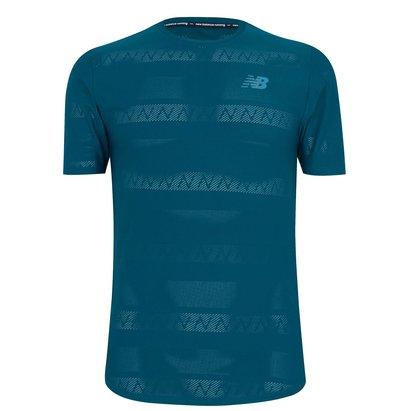New Balance Q Speed Short Sleeve Running T-Shirt Mens
