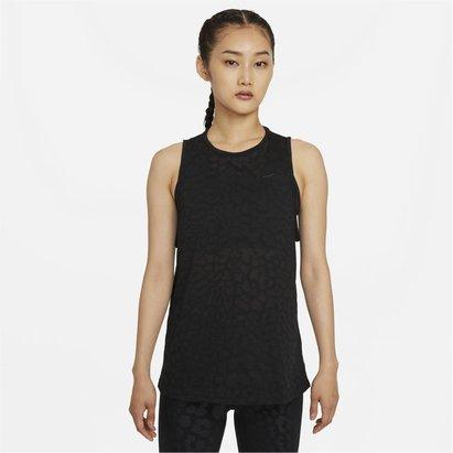 Nike Pro Dri FIT Womens Printed Tank Top