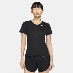 Nike FIT Short Sleeve Race Top Ladies