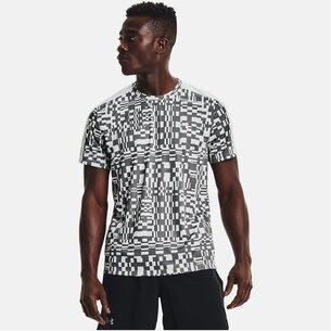 Under Armour Speed Stride Printed Short Sleeve T Shirt Mens