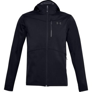Under Armour Cold Gear Infrared Shield Hooded Mens Running Jacket