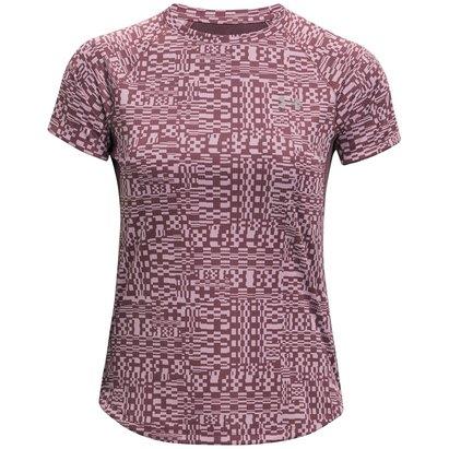 Under Armour Speed Stride Printed Short Sleeve Run T Shirt
