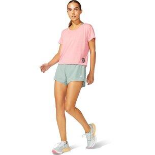Asics Sakura Cropped Running T Shirt