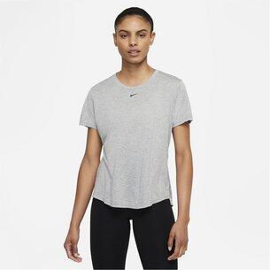 Nike Dri FIT One Womens Standard Fit Short Sleeve Top