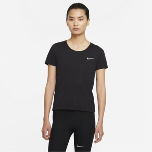 Nike Dri FIT Run Division Womens Short Sleeve Running Top