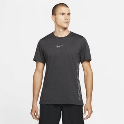 Nike Pro Dri FIT Burnout Mens Short Sleeve Top