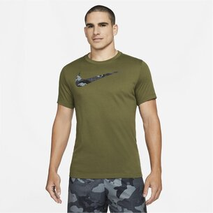 Nike Dri FIT Mens Graphic Training T Shirt