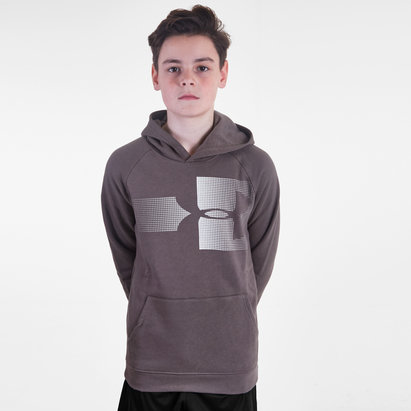 Under Armour Rival Logo Kids Hooded Sweat