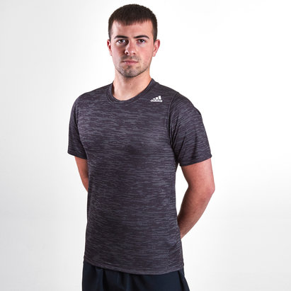 adidas Free Lift Tec Z Fitted Heathered Training T-Shirt