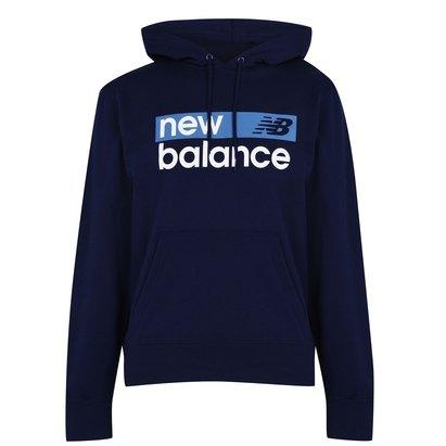 New Balance Logo Hoodie Mens