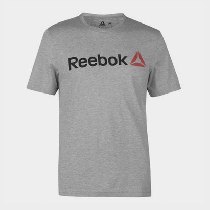 Reebok QQR Linear Read S/S T-Shirt