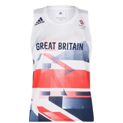 adidas Team GB Running Singlet Ladies