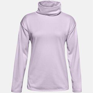 Under Armour Fleece High Neck Sweatshirt Ladies