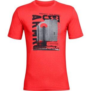 Under Armour Basketball Photo T Shirt Mens