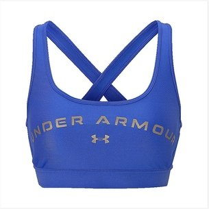 Under Armour Cross Back Graphic Bra Ladies