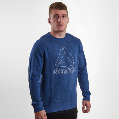 Reebok Marble Crew Sweater Mens