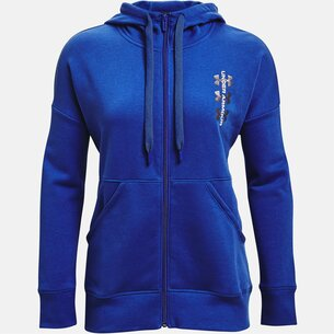 Under Armour Armour Rival Full Zip Hoodie