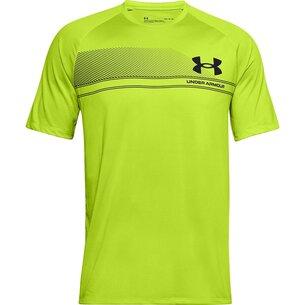 Under Armour Logo Tech T Shirt Mens
