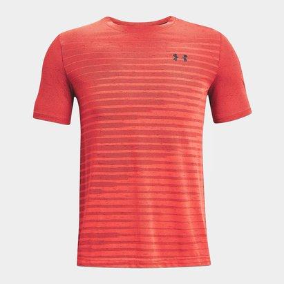 Under Armour Seamless Fade Short Sleeve T Shirt Mens