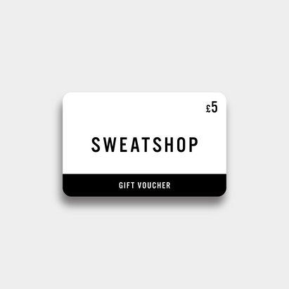 Sweatshop £5 Virtual Gift Voucher
