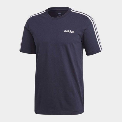 adidas Essentials 3 Stripes T-Shirt