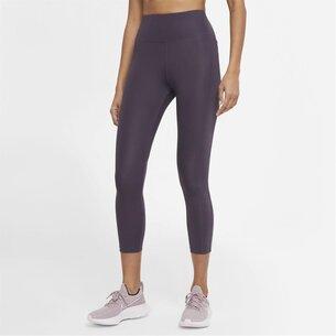 Nike Fast Womens Cropped Running Leggings