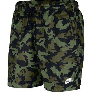 Nike Woven Camo Shorts Mens