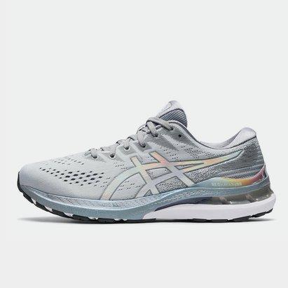 Asics Kayano 28 Platinum Mens Running Shoe